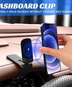 360° Clip-on Magnetic Phone Holder