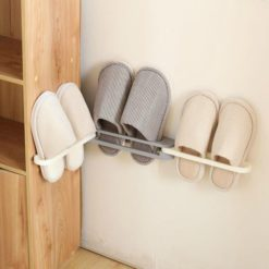 Drill-Free Slippers Rack