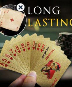 Luxurious 24K Playing Card