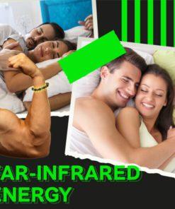 Pánsky náramok s infračervenou energiou