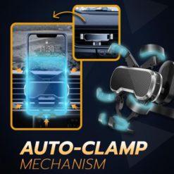 Auto-Clamp Car Phone Holder