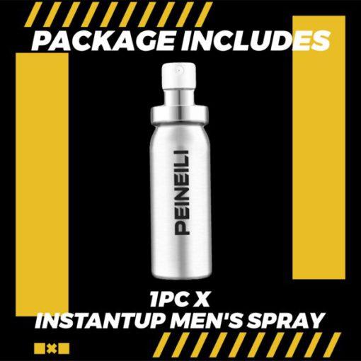 Spray instantané pour hommes
