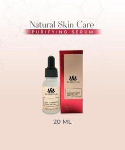 Siero purificante per la cura della pelle naturale