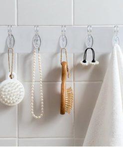 Double Hook Self-Adhesive Hanger Set