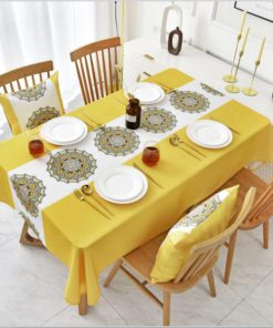 Waterproof And Oil-Proof Decorative Tablecloth