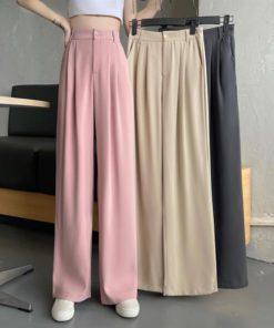 Woman's Casual Full Length Loose Pants